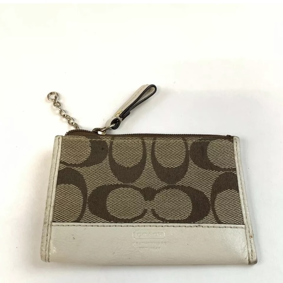 Coach Accessories - Coach Key Fob ID Credit Card Coin Purse Pouch